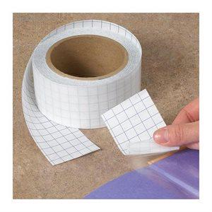 RUBAN ADHÉSIF PLASTI-KLEER ROULEAU 1''1 / 2 X 27 V TRANSPARENT
