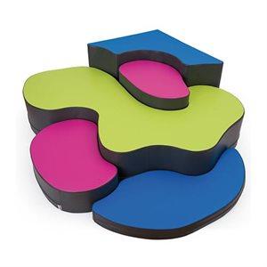 Ensemble de sièges de coin pour puzzle Gressco