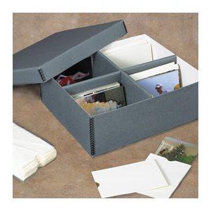 Boîte photo avec compartiments