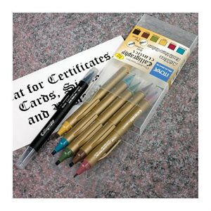 Ensemble de crayon pour calligraphie
