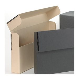 Boîte de rangement laminée