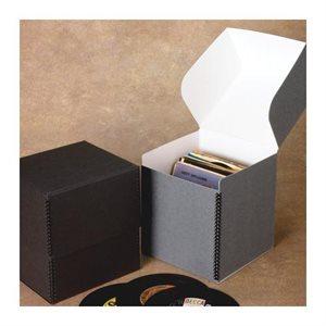 Boîte de rangement pour vinyles