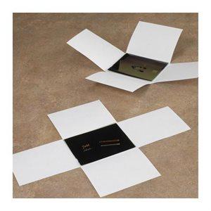 Enveloppes à négatifs à 4 rabats