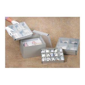 Boîte compartimentée pour artefacts