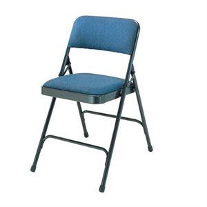 Chaise pliable rembourrée