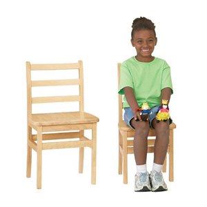 Chaise de bois