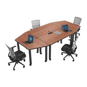 Table de conférence modulaire, Rectangle
