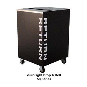 Chariots de retour intérieur Kingsely DuraLight™ 50 / 60 Series Drop & Roll