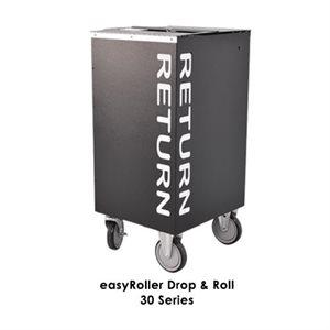 Chariots de retour d'intérieur Kingsley EasyRoller™ 30 / 50 / 60 Series Drop & Roll