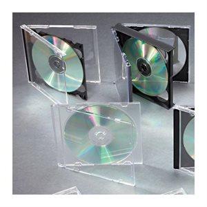 BOÎTIER CD + INTERCALAIRE CAPACITÉ 1