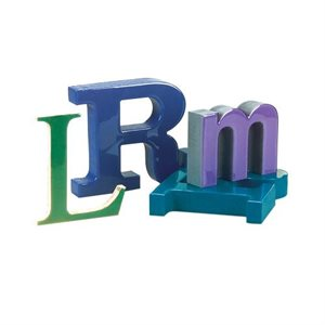 Lettres 3D PolyGlaze Durafoam