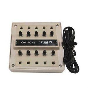 Boite de connexion multiple audio, 10 usagers