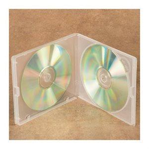 Boiter CD / DVD, capacité 2. clair sans jaquette