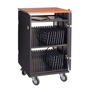 Cabinet de charge, rangement et transport, 32 tablettes