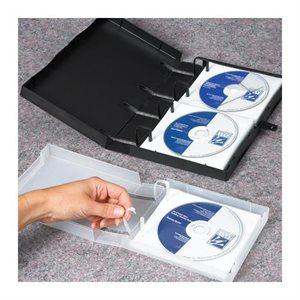 CARTABLE DE RANGEMENT CD / DVD CAPACITÉ 5