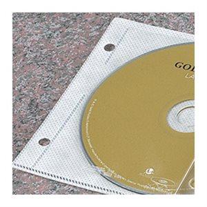 POCHETTE INDIVIDUELLE CD / DVD 2 TROUS