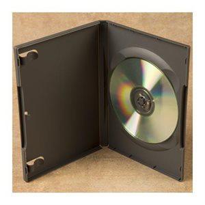 BOITIER DVD CAP 1 GRIS NOIR