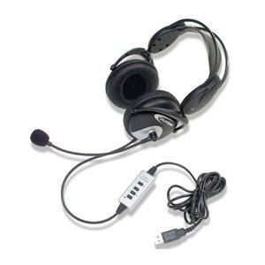 Casque d'écoute et microphone USB