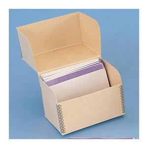 Boîte pour microfiches grande capacité