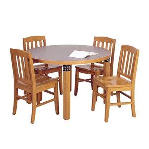 Brodart Tiburon Tables de lecture en chêne sans tablier