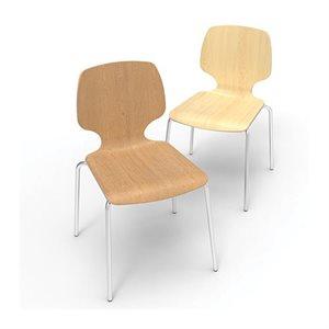 """Chaise 18"""" érable"""