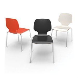 "Chaise Calix 16"" de polyester"
